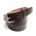 Dark Brown Men Belt, Length: S, M, L, Xl
