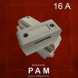 Pam Porcelain 16 A Rewirable Kit Kat Fuse for Home Distribution Board