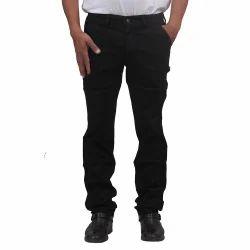 Mens Cotton Corduroy Black Trouser, Size: 32-38