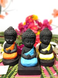 Polyresin Baby Buddha Sitting Statue For Gifting Purpose