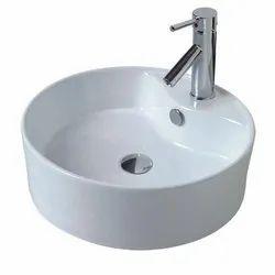 White Ceramic Bathroom Basin