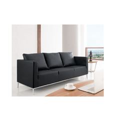 Leatherete Corporate 2 Seater Sofa