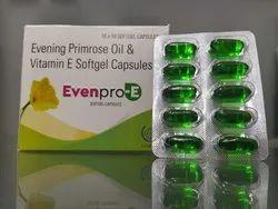 Evening Primrose Oil Softgel Capsules, 10*10 Drip Off Packing, Prescription