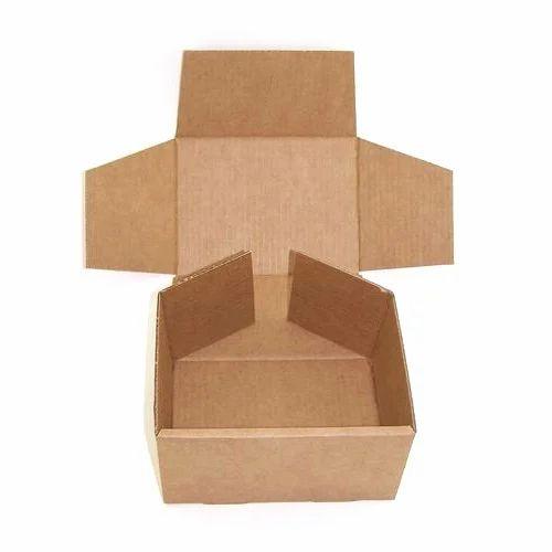 Corrugated Cardboard Box, कोरगेटेड