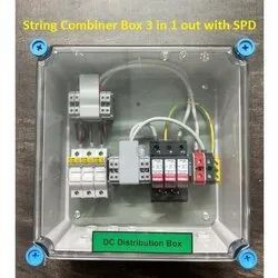 3 in 1 Out Solar MCB Array Junction Box