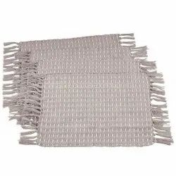 Cotton Placemats With Fringes