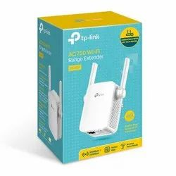 2.4 And 5 Ghz TP Link AC750 Dual Band Range Extender RE205, For Wi Fi