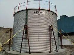 Modular Water Storage Tank