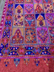 Pashmina Fine Wool Jamawar Handmade Embroidery Stole