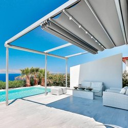 Retractable Pergola Tents