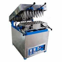Cone Wrapper Machine