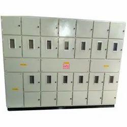 Mild Steel Three Phase Meter Panel, IP Rating: IP44