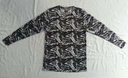 Printed Round Neck Full Sleeve T-shirts