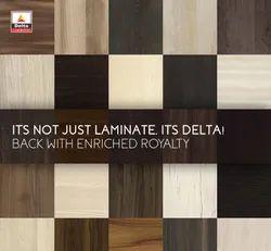 Sunmica Decorative, Rustic Delta Laminates, For Interiors, Thickness: 4-10 Mm