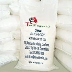 Powder Zinc Sulphide, For Industrial, Packaging Type: Bag