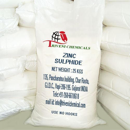 Powder Zinc Sulphide, For Industrial, Packaging Type: Bag