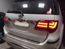 Red Toyota Fortuner Type 2 Modified Tail Light