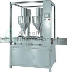 Triple Auger Dry Syrup Filling Machine