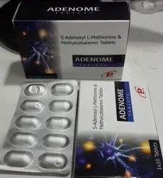 Adenoma S-Adenosyl L-Methionine & Methylcobalamin Tablets, Plenum Biotech, Prescription