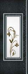 Flower Printed Digital PVC Door