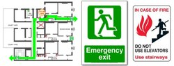 Fire Escape Route Plan