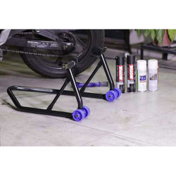 Two Wheeler Motorcycle Stand, For Bike