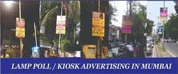 Lamp Pole Kiosk Advertising