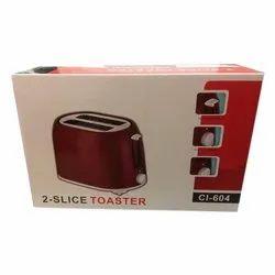 Utility CI-604 2 Slice Pop Up Toaster
