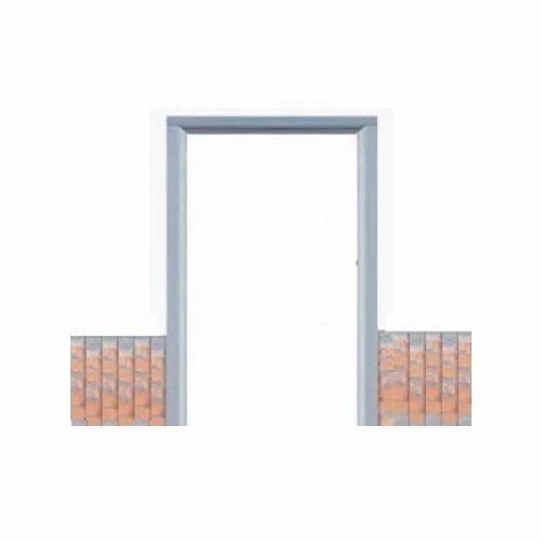 Gray Matte Rectangular RCC Door Frame