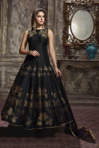 e1261c66f6 Heavy Designer Hand Work Anarkali Suit, एम्ब्रॉयडर्ड ...
