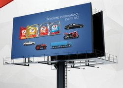PVC Rectangle Corporate Hoarding Printing, Depend Upon Size, India