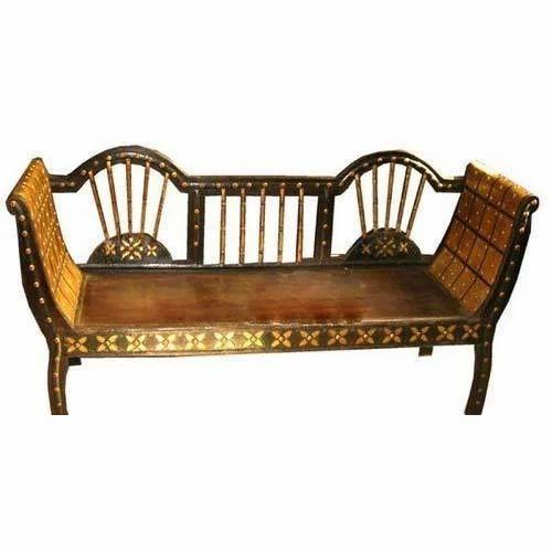 Wooden Rajasthani Mudda Sofa Rs 15000 Piece Maruti Art