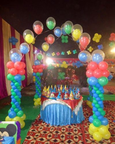 Birthday Parties Decorations Services
