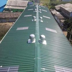 Puff Sheet Roofing Shed
