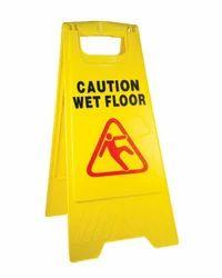 Wet Floor Caution Board