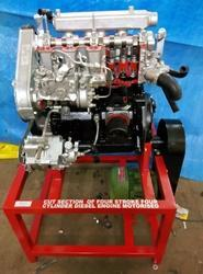 Cut Section Of Multi Cylinder Petrol Engine  Motorized