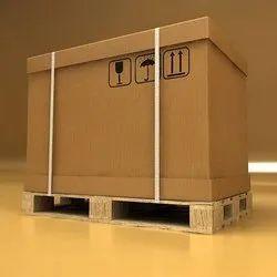 Cube 2- Way, 4- Way Corrugated Box Pallet, Capacity: 600 Kg