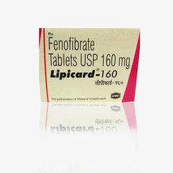 Lipicard 160 Mg Tablet