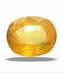 Yellow Sapphire Natural Stone Gemstone