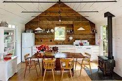 Brick Construction Farm House Architectural & Interior Design