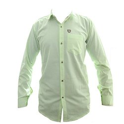 Men's Cotton Plain Shirts