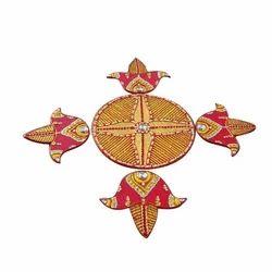 Handicraft Wooden Rangoli