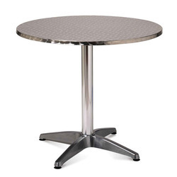 Silver SS Standing Table