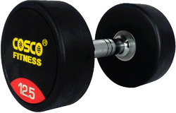 Round Dumbbell Rubber 12.5 kgs 28404