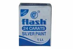 24 Carat Silver Paint