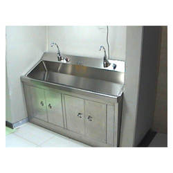 Stainless Steel Scrub Station