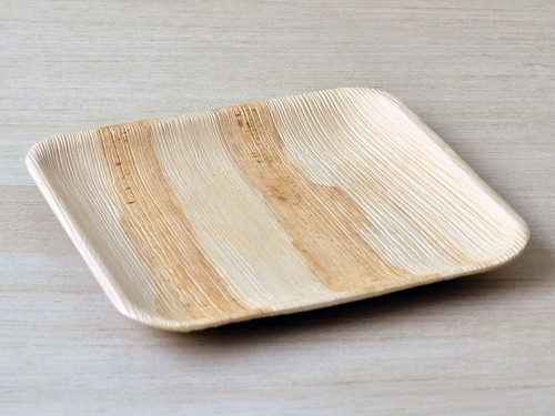 White,Brown Or Natural Color Eco Palm Leaf Plate, Size: 10, Rs 6.25 /piece  | ID: 16366992255