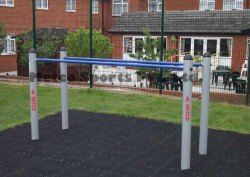 Metco Parallel Bars, Outdoor Gym Equipment