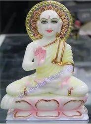 Mahaveer Swami Marble Statue