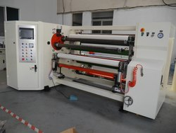 Double Shaft Automatic Rewinding Machine